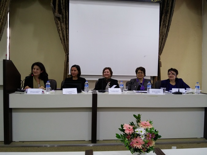 "The seminar  named ""Law and Women""  was held in our university."
