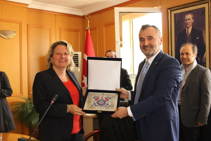 Marmara University made once again an agreement with Germany's Minister