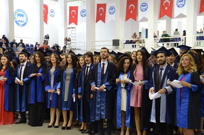 Graduation Enthusiasm at Atatürk Faculty of Education