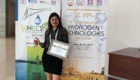 """Duygu Akyüz was awarded with """"Young Researchers Award"""""""
