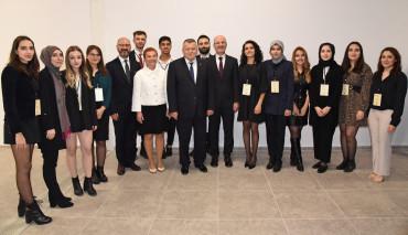 Hukuk Fakültesi Yargıtay Başkanı İsmail Rüştü Cirit'i Ağırladı