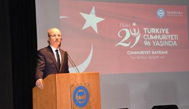 """""""Marmara Üniversitesi 29 Ekim Cumhuriyet Bayramı Kutlama Töreni"""""""