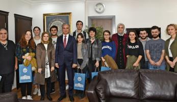 "Secretary General Murat Arısal Hosted the ""9. Village Art Club"" Students"