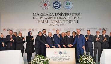 Cumhurbaşkanımızın Teşrifleriyle Marmara Üniversitesi Recep Tayyip Erdoğan Külliyesi Temel Atma Törenini Gerçekleştirdik