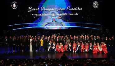 Marmara Üniversitesi Türk Müziği Topluluğu Cumhurbaşkanlığı Külliyesi'nde Konser Verdi