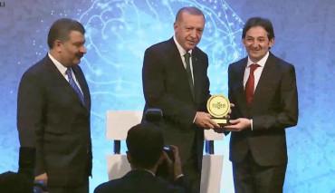 2019 TÜSEB Aziz Sancar Award Was Given to Prof. Dr. Safa Barış