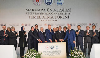 Groundbreaking Ceremony of the Recep Tayyip Erdoğan Complex Was Held On November 29, 2019.