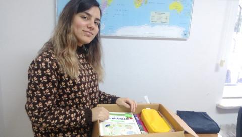 Marmara Political Science Society Kulübü'nden Köy Okuluna Yardım