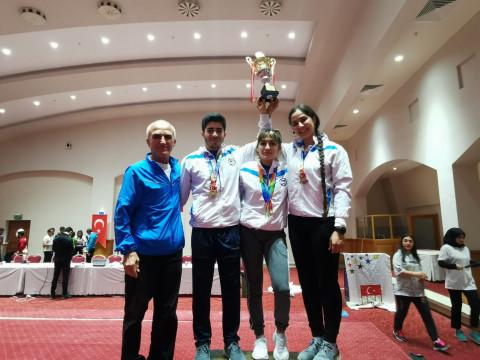 """Marmara Üniversitesi """"Bilek Güreşi"""" Takımından Büyük Başarı"""