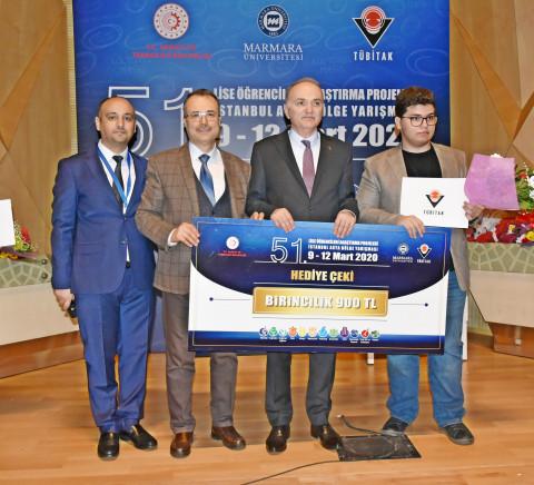 51. Lise Öğrencileri Araştırma Projeleri İstanbul Asya Bölgesi Ödülleri Sahiplerini Buldu