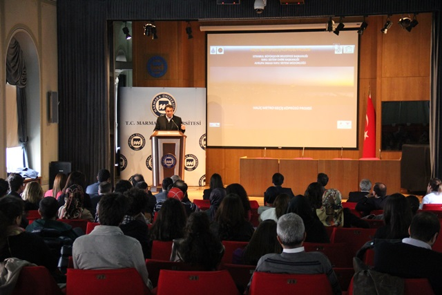 Marmara Üniversitesi Mimar Hakan Kıran'ı ağırladı