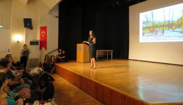 Marmara Üniversitesi'nde Dilek Livaneli Söyleşisi