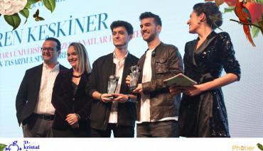 Öğrencilerimize 31. Kristal Elma Genç Kristal Yaratıcılık Yarışması'ndan Birincilik Ödülü
