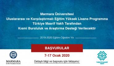Türkiye Maarif Vakfı Tarafından Öğrencilerimize Burs Desteği