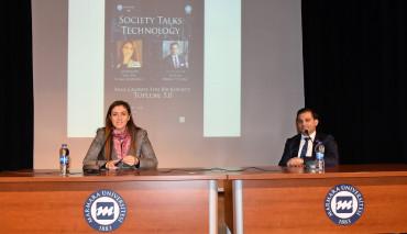 Üniversitemizde Society Talks Toplum 5.0 Konferansı Düzenlendi