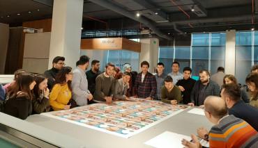 """Marmara Üniversitesi Basım Teknolojileri Kulübü """"Fujifilm Technology Center""""a Teknik Gezi Gerçekleştirdi"""