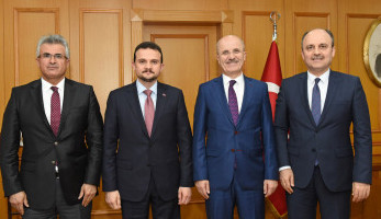 President of the National Agency İlker Astarcı Visited Our Rector