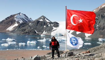 Spor Bilimleri Fakültesi Öğretim Üyesi Türk Antarktika Bilim Seferi-4'e Katıldı