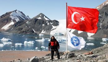 Inst.Dr. Serdar Orkun Pelvan Attended the 4th National Antarctic Science Expedition
