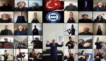 Marmara Üniversitesi Türk Müziği Topluluğu, 19 Mayıs Atatürk'ü Anma, Gençlik ve Spor Bayramı Nedeniyle Üç Eser Seslendirdi