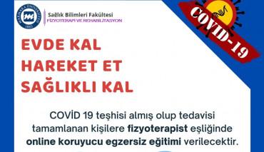 Covid-19 Hastaları için Telerehabilitasyon Uygulaması