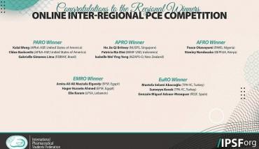 Eczacılık Fakültesi Öğrencilerimiz Uluslararası Eczacılık Öğrencileri Birliği Hasta Bilgilendirme Yarışması'nda (IPSF-PCE) Avrupa Birincisi Oldu