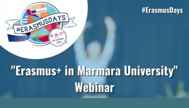 """Erasmus+ in Marmara University"""