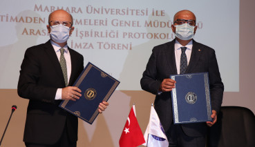 R&D Cooperation Protocol Was Signed Between Marmara University and Eti Mining Operations General Directorate