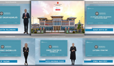 Marmara University Academicians Give Trainings in the Presidential Distance Education Gate Platform