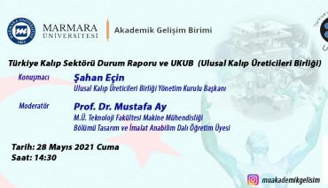 Türkiye Kalıp Sektörü Durum Raporu ve UKUB Etkinliği Gerçekleştirildi