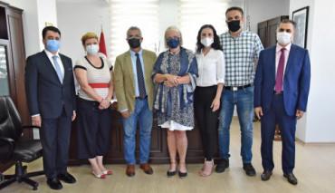 Mostar Cemal Biyediç Üniversitesi Heyetinin Üniversitemize Ziyareti