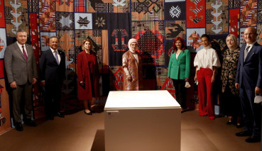 """""""Fabrics Atlas Exhibition"""" Contributed by Marmara University Opens at Presedential Complex"""
