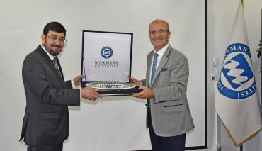Afganistan Heyeti Üniversitemizi Ziyaret Etti