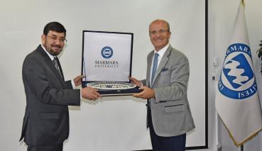 An Afghanistan Delegation Visited Our University
