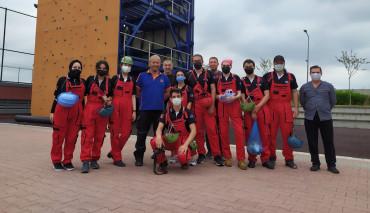 Marmara Üniversitesi Sivil Savunma Kulübü ve AFAD İş Birliğiyle Hafif Arama Kurtarma Eğitimleri Düzenlendi