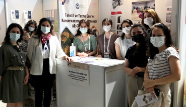 Textile and Manuscripts Conservation and Restoration R&D Central Laboratory Attended the 5th Heritage Istanbul Expo