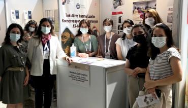 Tekstil ve Yazma Eserler Konservasyon ve Restorasyon AR-GE Merkez Laboratuvarı 5. Heritage İstanbul Fuarına Katıldı