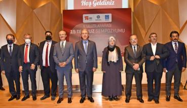 5th International July 15 Symposium Held at Marmara University